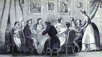 "Summary of ""The Dinner Party"" – Grade 5, Brianna"